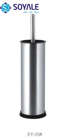 Stainless Steel Toilet Brush Holder with Polish Finishing Sy-054