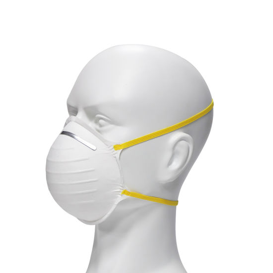 En149 Comfortable Dust Respirator Flat -Fold Cup KN95 Mask with Nose Sponge