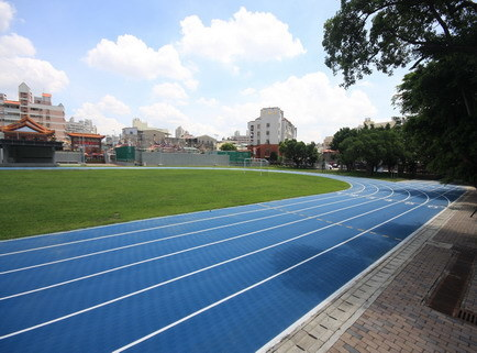 Waterproof Prefabricated Rubber Athletic Track Surface pictures & photos