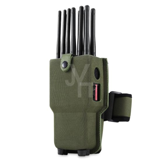 New Design Unique 12 Channel All-in-One Cell Phone Signal Jammer Blocking GPS WiFi Dsm CDMA Signal Jammer