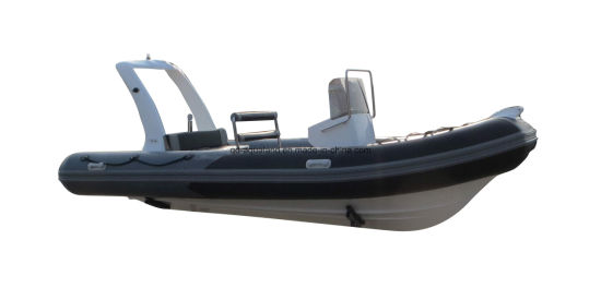 Aqualand 14.5 Feet 5.4m Rib Fishing Rigid Inflatable Fishing /Rescue/Patrol Motor Boat (RIB540B) pictures & photos