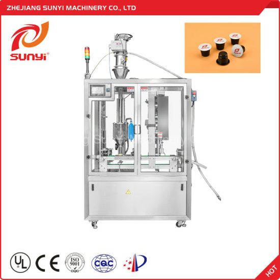 Best Selling Products Cup Coffee Capsule Filling Machine Made in China