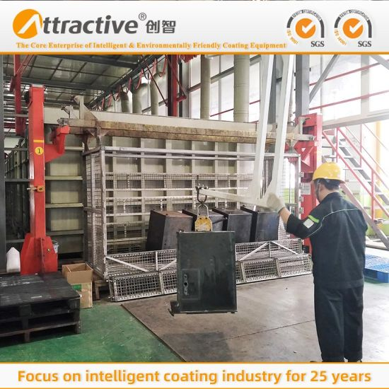 China's Export-Grade High-Quality Automated Powder Coating Production Line for Manufacturing Hardware Parts
