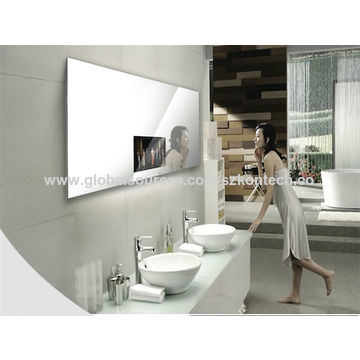 China 18 5 Wall Mount Bathroom Mirror Tv China Color Touch Mirror