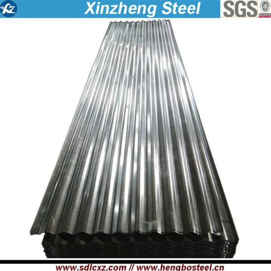 0.18mm Corrugated Galvanized Steel Sheet in Coils for Roofing Tiles