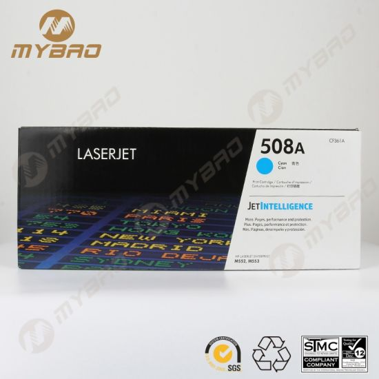 Toner Cartridge for HP CF360A 508A for Laserjet