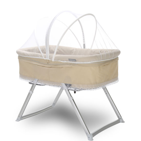 New Foldable Baby Rocking Bed Can Be Disassembly Baby Crib