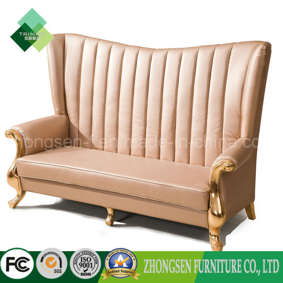 Remarkable China European Style Royal High Back Sofa Leather King Gmtry Best Dining Table And Chair Ideas Images Gmtryco