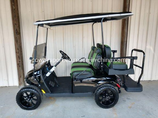 Factory Directly Sell Best Price Ezgo Valor - Black Golf Cart