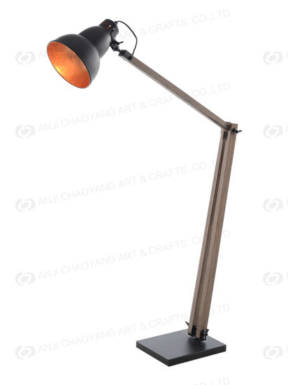 Metal Wood Adjustable Floor Lamp Lighting/Light/Lamp/LED/Furniture/Decoration pictures & photos