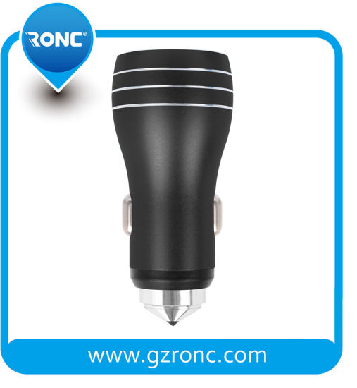 GPS Car Charger 5V 3.4A Dual USB Charger pictures & photos