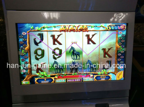 Avatar Gambling Arcade Video Casino Indoor Playgroud Game Machine for Sale