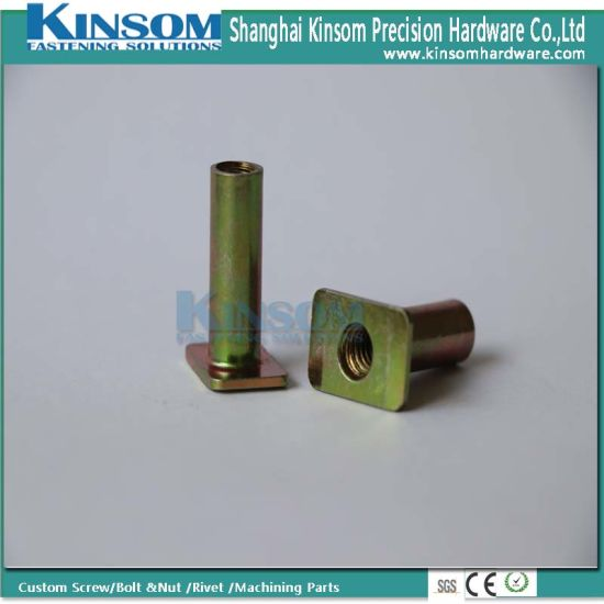 Color Zinc Brass Copper Plated 6*25 Customized Fasteners Hollow Self Clinching Rivet pictures & photos