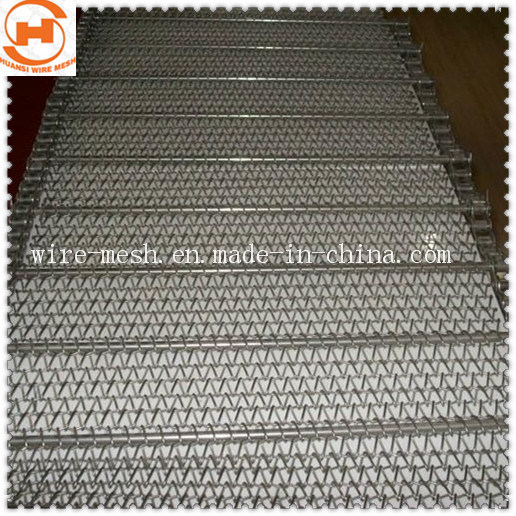 Reinforce Braiding Stainless Steel Conveyor Belt pictures & photos