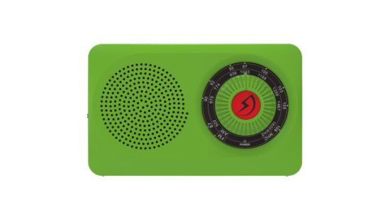 Portable FM/Am High-Sensitivity Family Quality Gift Radio Green pictures & photos