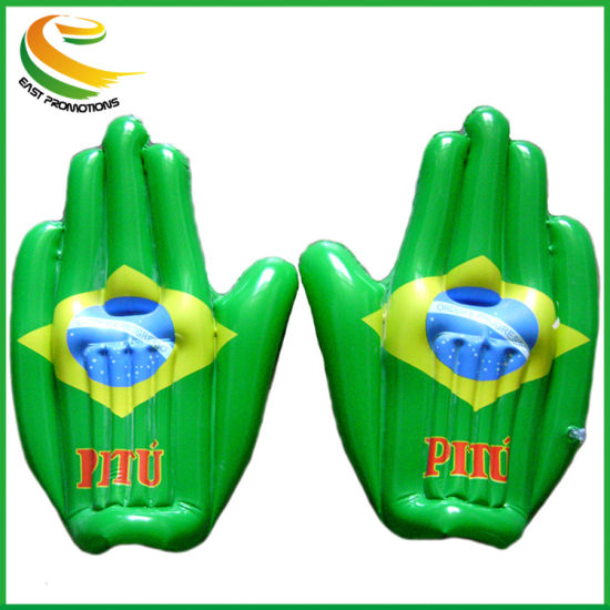 OEM Promotional PVC Cheering Inflatable Hand for 2018 World Cup pictures & photos