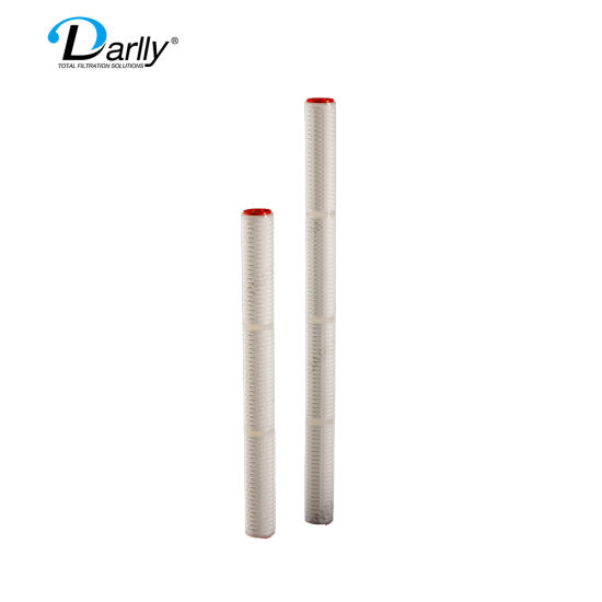 Darlly 30 Inch PP Micron Pleated 1um 3um 5um 10um 20um 50um Filter Cartridge