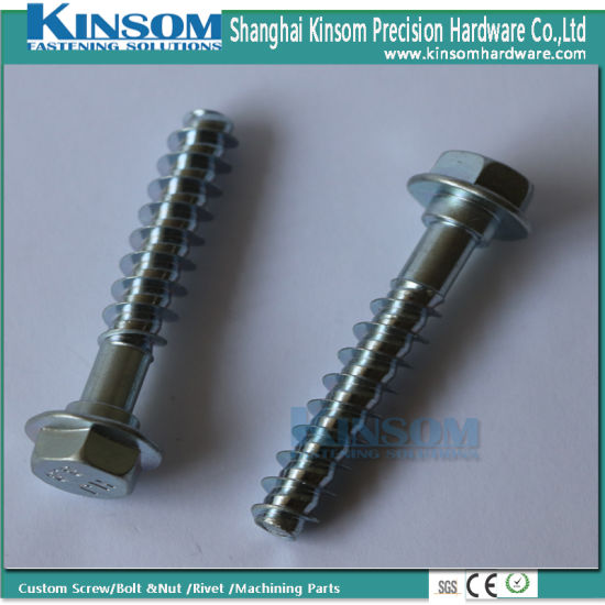 Hilo Thread OEM Service Custom 90 Length Hex Flange Bolt Self Tapping Screw