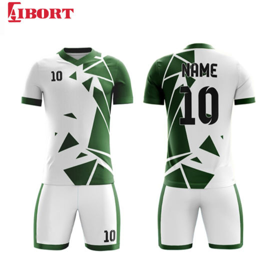 Aibort Football Shirt Maker Custom Free Latest Design Football Jersey Designs Picture Soccer Jersey (J-SC027 (2))