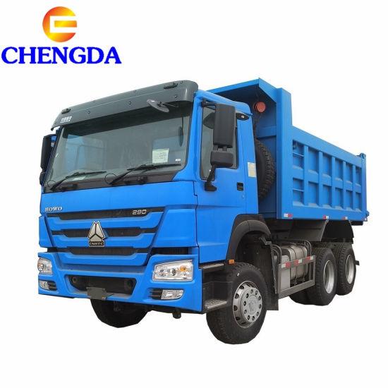 6X4 336HP 371HP 10 Wheeler 40ton Sinotruk HOWO Heavy Duty Lorry Tipper Dumper Dump Truck