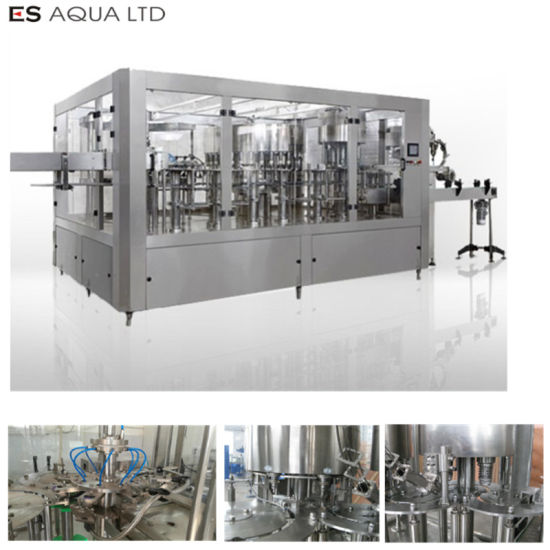 Mineral Water Plant Production Line Small Bottle 5L 10L Bottle Washing Filling Capping Labeling Packing Machine pictures & photos
