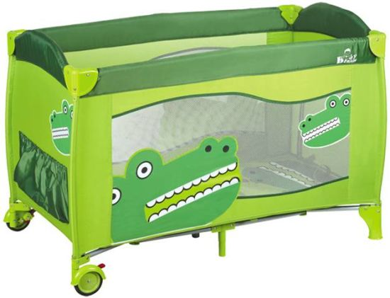 Hot Sales European Standard Baby Playpen with Wheels pictures & photos