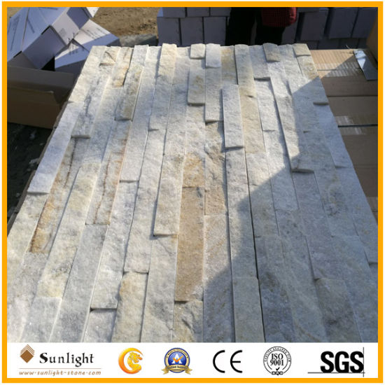 Red/Black/White Quartz Culture Stone for Wall Cladding pictures & photos