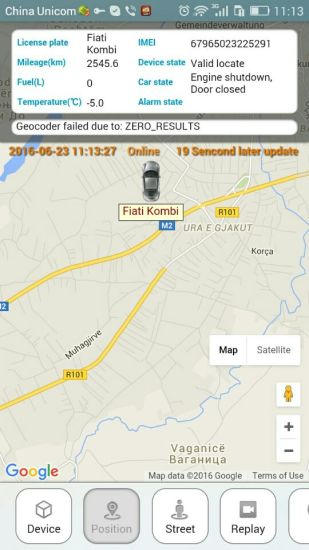 China OBD2 Car GPS Tracker with Wireless Relay Stop Engine