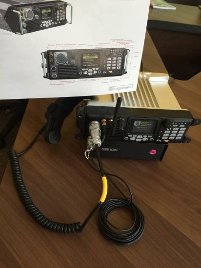 China Vehicle Radio in 30-88MHz/50W for Military Compatible