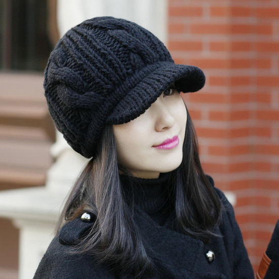 Promotional Winter Knitted Beanie Hats