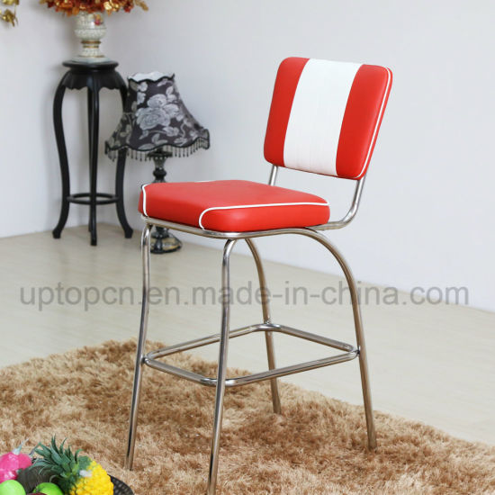 China Retro 50s Bel Air American Diner Bar Chair (SP-HBC424