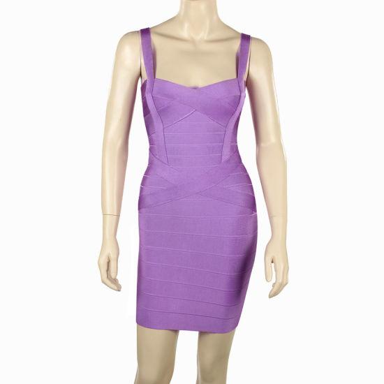 Wholesale Colorful Bandage Dress Celebrity Dress Tight Cocktail Dresses 2018
