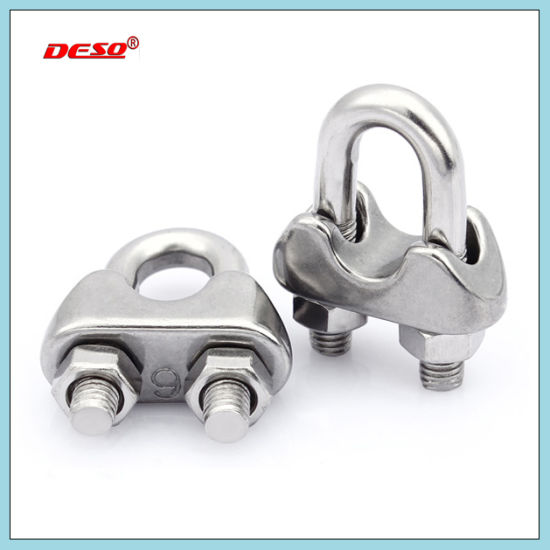 China Drop Forged Stainless Steel Wire Cable Clip - China Cable Clip ...