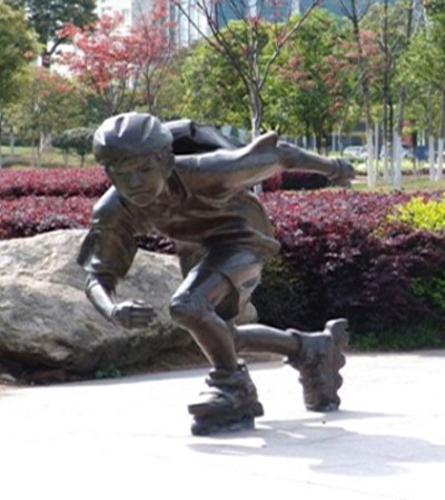 Skater Girl, Bronze Sculpture, Garden Bronze Sculpture, Park Sculpture pictures & photos