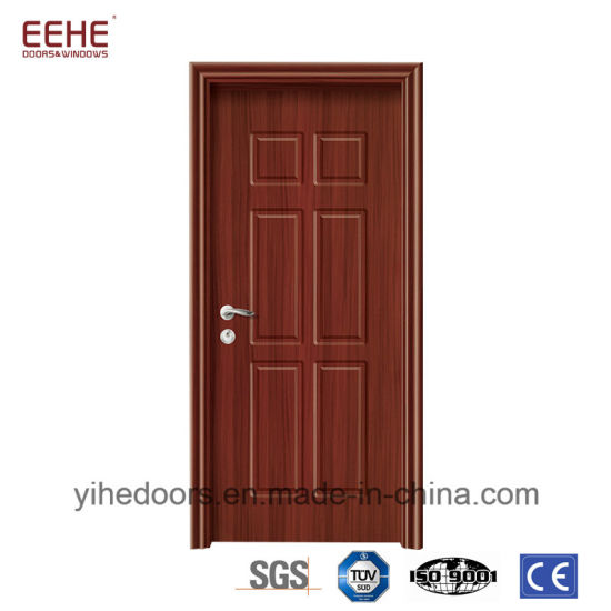 High Cost Effective PVC Veneer MDF Wooden Door
