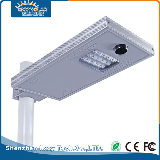 15W Outdoor Integrated Solar LED Street Light for Park
