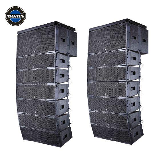 Outdoor Speaker Column Big Power Double 10 Inch Line Array Speaker