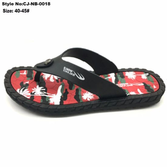 18477e8b6b874 China Ladies Sandals Printed Sole Flip Flop Beach Outdoor Slippers ...