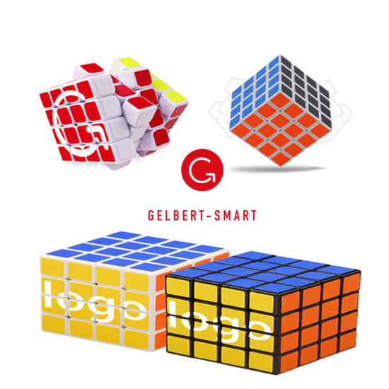 Wholesale 4X4X4 Magic Speed Cube Sticker Less Professional Puzzle Cube Magic Educational Toys for Children