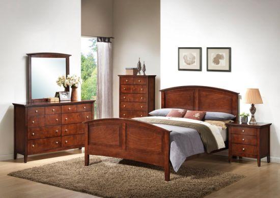 High Glossy Full Bedroom Set 5-Star Hotel Modern Bedroom Furniture