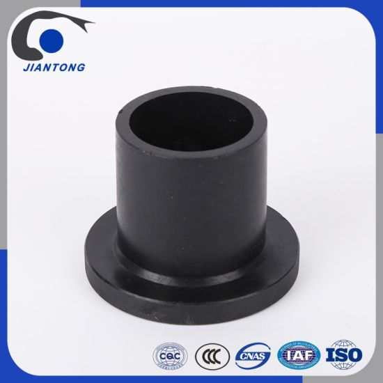 Black HDPE Flange Stub End Adaptor Pipe Fittings for Water Supply