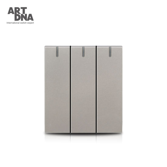 3 Gang 1 Way Light Switch Module for Home
