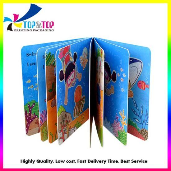Cheap Printing Luxury Children Story Book Custom Hardcover Book Printing