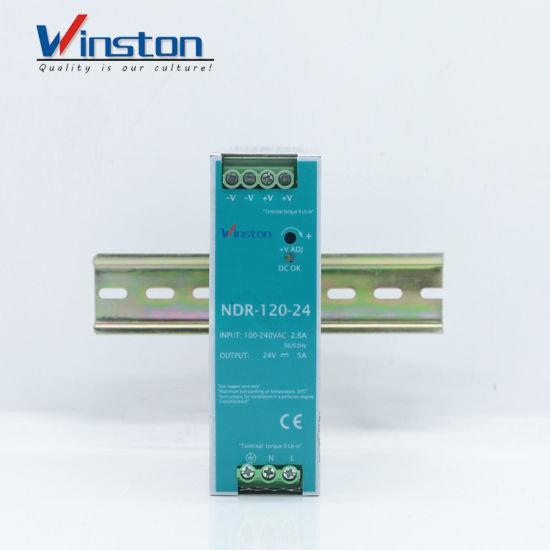 Ndr120-24 DC 120W 24V 5A Single Switch Power Supply