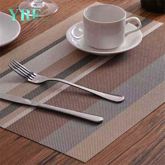 Yrf Custom Table Cloth Printing Blue Table Placemats