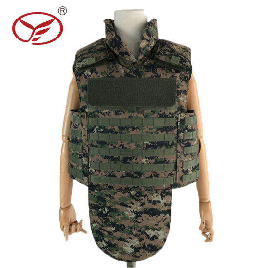 Aramid Material Camouflage Military and Police Bullet Proof Jacket