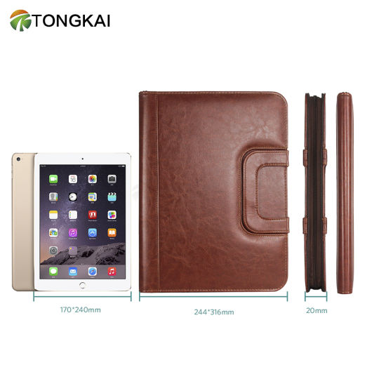 Portfolio for Men A4 Padfolio with Zipper
