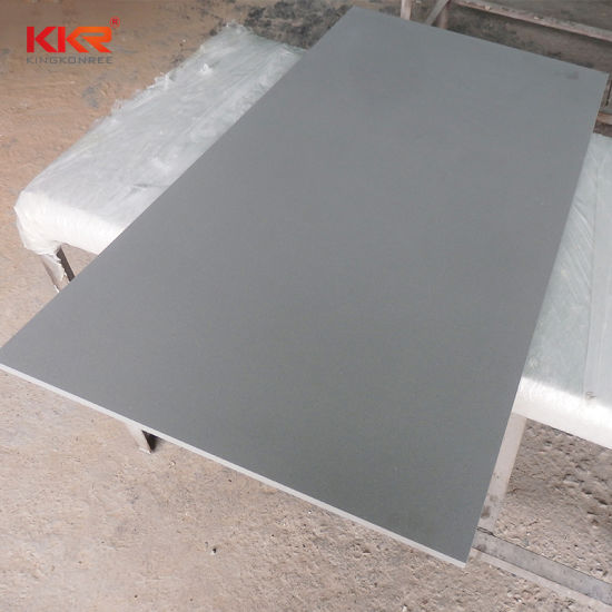Grey Color Acrylic Solid Surface