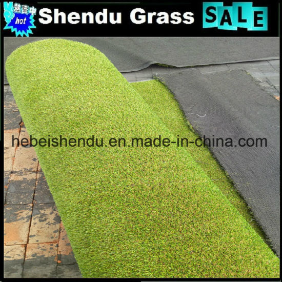 Sports Playground Gym Flooring 10mm Artificial Turf Grass Football Turf pictures & photos
