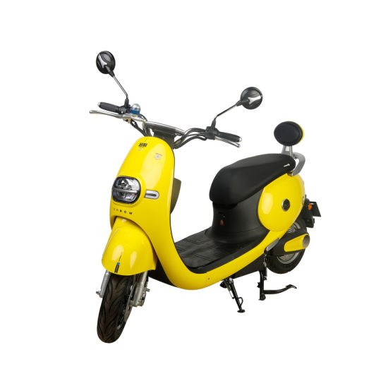60V Hot Sale Lady Style Yellow Color Electric Motorcycle Scooter Bikes